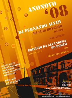 Passagem de Ano - Alfândega Porto