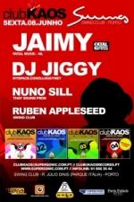 Jaimy e Jiggy - Sexta-feira, dia 8 de Junho @ Swing
